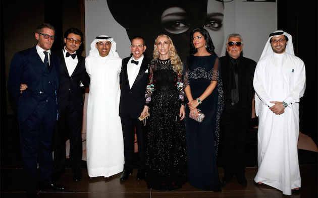 показ мод в Дубаи