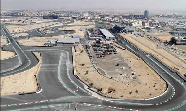 Формула 1 в Дубаи