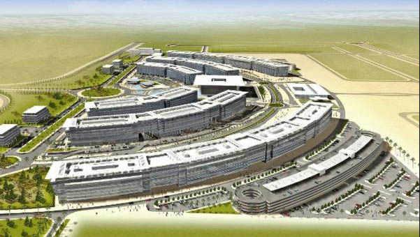 новый аэропорт в Дубаях