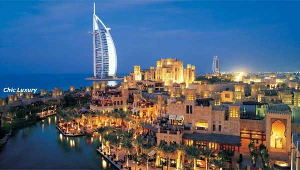 вечерние Дубаи